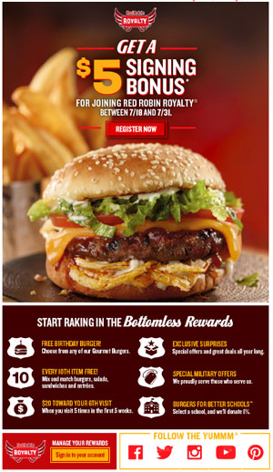Red Robin - Yummm!